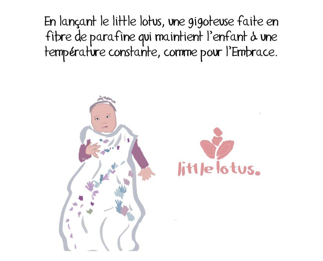 Innovation secteur santé Embrace infant warmer