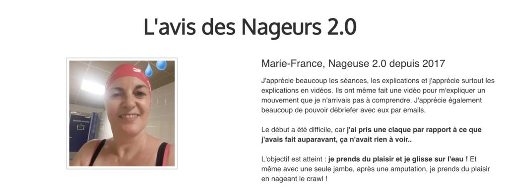 Thomas Routier Nageur 2.0 (2) - Fin de Tunnel de vente